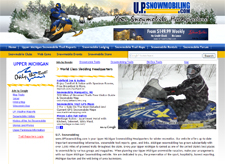 """Upper Michigan Snowmobiling"""
