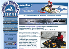 Munising Michigan Snowmobile Rentals