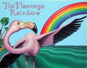Children's Book Art, Children's Book Illustration - The Flamingo