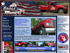 Eagle Towing of Engadine Michigan