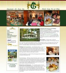 Lodging Website - Chamberlin's Ole Forest Inn