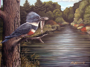 Original Bird Art Paintings