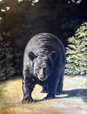 """Out of Nowhere"" Wildlife Art"