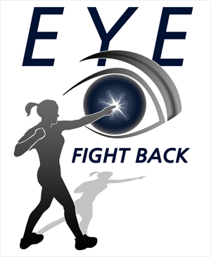 """Eye Fight Back"" Logo Design"