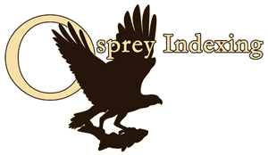 """Osprey Indexing"" Logo for Company In Derbyshire Engla"