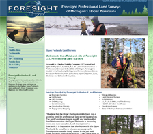 Foresight Land Surveying Website