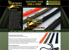 Northern Skies Survival Paracord Products
